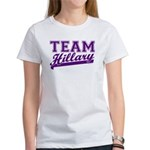 Team Hillary Purple Women's T-Shirt