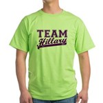 Team Hillary Purple Green T-Shirt
