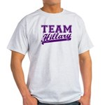 Team Hillary Purple Light T-Shirt