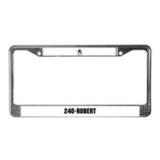 240-Robert License Plate Frame