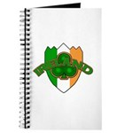 Ireland Badge with Shamrock Journal