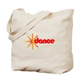 Dance Burst Tote Bag