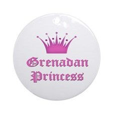 Grenadan Princess Ornament (Round)