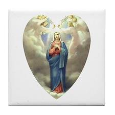Ave Maria Tile Coaster