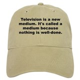 Fred allen quotation Baseball Cap