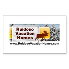 Ruidoso Lodging Rectangle Decal