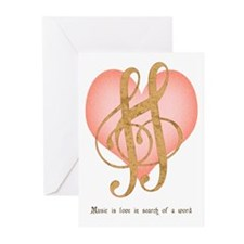 Music Lover Greeting Cards (Pk of 10)