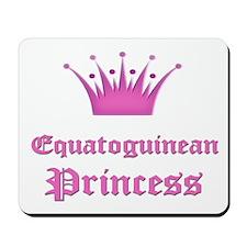 Equatoguinean Princess Mousepad