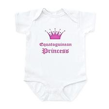 Equatoguinean Princess Infant Bodysuit