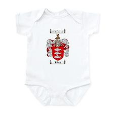 Roach Coat of Arms Infant Bodysuit