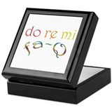 Do Re Mi Fa-Q Keepsake Box