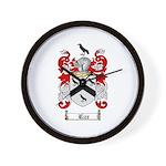 Rice Coat of Arms Wall Clock