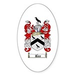 Rice Coat of Arms Oval Sticker