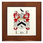 Rice Coat of Arms Framed Tile