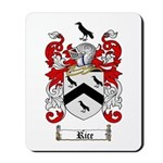 Rice Coat of Arms Mousepad