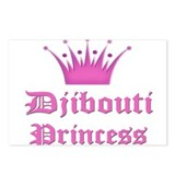 Djibouti Princess Postcards (Package of 8)