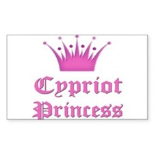 Cypriot Princess Rectangle Decal