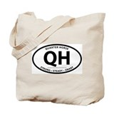 "Quarter Horse ""QH"" Tote Bag"