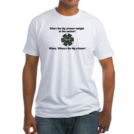 Who's the big winner? Fitted T-Shirt