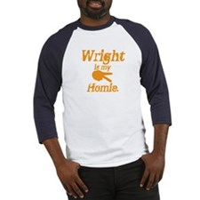 Wright is my homie Baseball Jersey