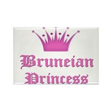 Bruneian Princess Rectangle Magnet (10 pack)