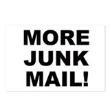 MORE JUNK MAIL Postcards (Package of 8)