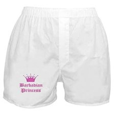 Barbadian Princess Boxer Shorts