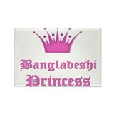 Bangladeshi Princess Rectangle Magnet (10 pack)