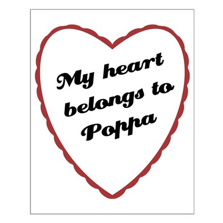My Heart Belongs to Poppa Small Poster