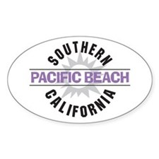 Pacific Beach California Decal