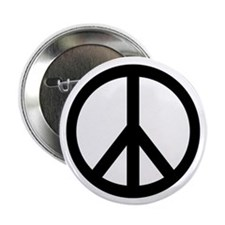 "Peace Sign 2.25"" pin (10 pack)"