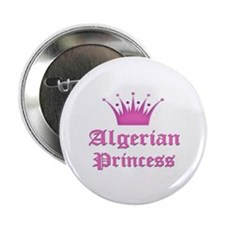 "Algerian Princess 2.25"" Button"