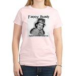 Fanny Bush's Pink Women's T-Shirt