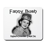 Fanny Bush Cricket Fan Mousepad