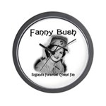 Fanny Bush Cricket Fan Wall Clock