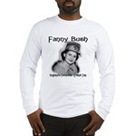 Fanny Bush Cricket Fan Long Sleeve T-Shirt