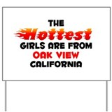 Hot Girls: Oak View, CA Yard Sign