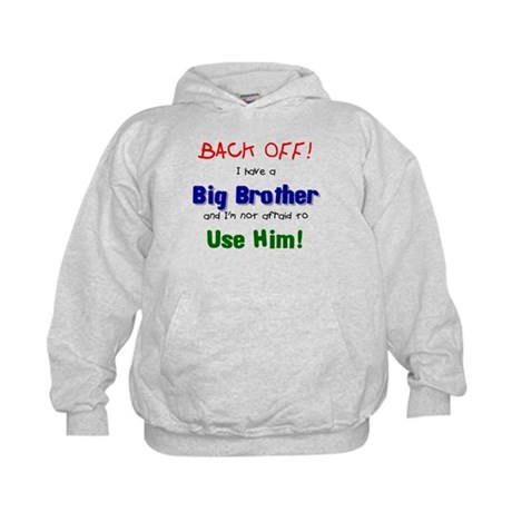 I have a big brother Kids Hoodie