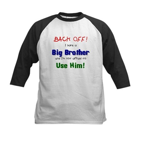 I have a big brother Kids Baseball Jersey