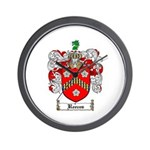 Reeves Family Crest Wall Clock