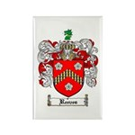 Reeves Family Crest Rectangle Magnet (10 pack)