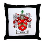 Reeves Family Crest Throw Pillow
