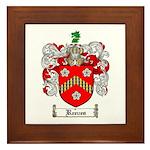 Reeves Family Crest Framed Tile