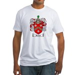 Reeves Family Crest Fitted T-Shirt