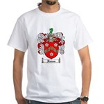Reeves Family Crest White T-Shirt