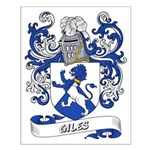 Giles Coat of Arms Small Poster
