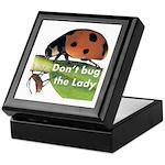 Don't bug the Lady Keepsake Box