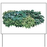 Hosta Clumps Yard Sign