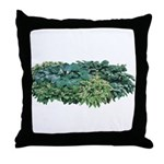 Hosta Clumps Throw Pillow