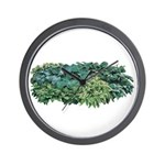 Hosta Clumps Wall Clock